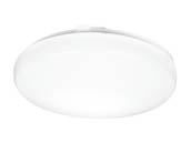 "Lithonia Lighting 224R0H FMLRL 14 20830 M4 Lithonia Flush Mount 14"" Round Dimmable LED 24W, 120V, 3000K, White"