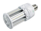 Satco Products, Inc. S39390 LED/18W/5000K/100-277V Satco 70 Watt Equivalent, 18 Watt Hi-Pro LED Corn Bulb, 5000K, Ballast Bypass