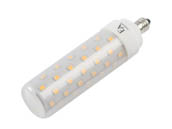 EmeryAllen EA-E11-9.5W-001-309F-D Dimmable 9.5W 120V 90 CRI T3 3000K LED Bulb, E11 Base, Enclosed Fixture Rated