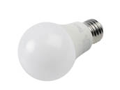 MaxLite 14099393-8 E6A19DLED40/G8 Maxlite Dimmable 6W 4000K A19 LED Bulb, Enclosed Fixture Rated