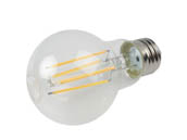 Archipelago Lighting A19C6027K26 Archipelago Non-Dimmable 6.3W 2700K A19 Filament LED Bulb, Enclosed Fixture and Wet Rated