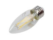 Philips Lighting 549154 3.3B11/PER/950/CL/G/E26/DIM 1FBT20 Philips Dimmable 3.3W 5000K 90 CRI Decorative LED Bulb, E26 Base, Wet Rated, Title 20 Compliant