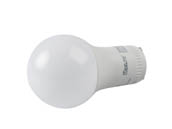 MaxLite 14099406-7 E6A19GUDLED30/G7 Dimmable 6W 3000K A19 LED Bulb, GU24 Base, Enclosed Fixture Rated