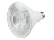 TCP L100P38N25UNV30KFL Non-Dimmable 12.5W 277V 3000K 40° PAR38 LED Bulb, Wet Rated