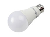 MaxLite 102589 E14A19NDV27/4P Maxlite Non-Dimmable 14W 2700K A19 LED Bulb, Enclosed Fixture Rated