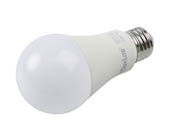 MaxLite 102591 E14A19NDV50/4P Maxlite Non-Dimmable 14W 5000K A19 LED Bulb, Enclosed Fixture Rated