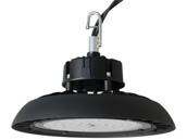 Archipelago Lighting LRHB100-110-M50 Archipelago 250 Watt Equivalent, 100 Watt Dimmable Round UFO LED High Bay Fixture