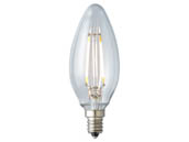 Archipelago Lighting LTB10C35027CB Dimmable 3.5W 2700K Decorative Filament LED Bulb, Enclosed Fixture and Outdoor Rated