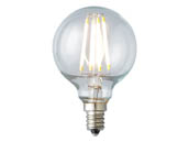 Archipelago Lighting LTG165C50027CB Dimmable 4W 2700K G-16.5 Filament LED Bulb, Enclosed Fixture and Outdoor Rated