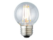 Archipelago Lighting LTG165C50024MB Dimmable 4.5W 2400K G-16.5 Filament LED Bulb, Enclosed Fixture and Outdoor Rated