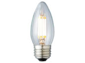 Archipelago Lighting LTB10C50027MB Dimmable 4.5W 2700K Decorative Filament LED Bulb, Enclosed Fixture and Outdoor Rated