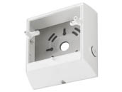 Lithonia Lighting 249WXJ LIL LED BB WH M12 Lithonia White Back Box for LIL LED Series Compact Wall Pack Light