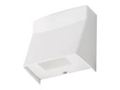 Lithonia Lighting 249WWM LIL LED 40K MVOLT WH M12 Lithonia LIL LED 100 Watt Incandescent Equivalent, 8.4 Watt, 4000K, 120-277 Volt Wallpack Fixture, White