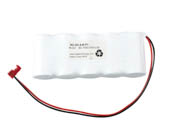 Value Brand NC-SC-5-B-P1 6 Volt 1500 mAh Ni-Cad Battery, 5 SC Cells, Side-By-Side Configuration