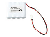 Value Brand NC-AA-4-B-D1 4.8 Volt 700 mAh Ni-Cad Battery, 4 AA Cells, Side-by-Side Configuration