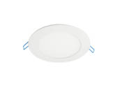 "MaxLite 102888 SDLR616CSWJ Maxlite Dimmable 16 Watt 6"" Round Color Adjustable 2700K/3000K/4000K/5000K 90 CRI Flat LED Downlight, Title 24 Compliant"