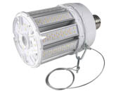 Satco Products, Inc. S39675 80W/LED/HID/4K/100-277V/EX39 Satco 320 Watt Equivalent, 80 Watt 4000K LED Post Top Retrofit Lamp, Ballast Bypass