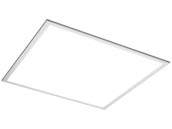 TCP DTF2UZD2335K Dimmable 23 Watt 2x2 ft 3500K Flat Panel LED Fixture