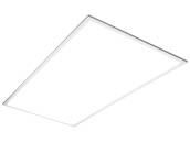 TCP DTF4UZD2930K Dimmable 29 Watt 2x4 ft 3000K Flat Panel LED Fixture
