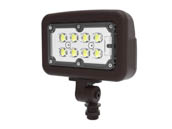 "Halco Lighting 10341 FLFS30/3CCTU/KN Halco 100 Watt Equivalent, 30 Watt Color Adjustable (3000K/4000K/5000K) LED Flood Light Fixture With 1/2"" Threaded Knuckle, Title 24 Compliant"