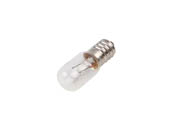 Bulbrite 715006 10T5.5/60V 10W 60V Clear T5.5 Appliance, Amusement Bulb, European E14 Base