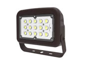 Halco Lighting 10344 FLFS50/3CCTU/YK Halco 150 Watt HID Equivalent, 50 Watt Color Adjustable (3000K/4000K/5000K) LED Flood Light Fixture With Yoke Mount, Title 24 Compliant