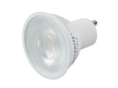 Bulbrite 771220 LED6PAR16GUFL40/50/830/D Dimmable 6.5W 3000K 40° MR16 LED Bulb, GU10 Base, Enclosed Fixture Rated