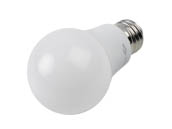 TCP L60A19N25UNV30K Non-Dimmable 7.5 Watt 120-277 Volt 3000K A-19 LED Bulb, Enclosed Fixture Rated