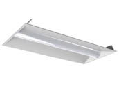 MaxLite 14099889 MLVT24D3035/SBMS Maxlite Dimmable 30 Watt 3500K 2x4 ft LED Recessed Troffer Fixture with Bi-Level Motion Sensor