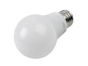 TCP L60A19N25UNV40K Non-Dimmable 7.5 Watt 120-277 Volt 4000K A-19 LED Bulb, Enclosed Fixture Rated