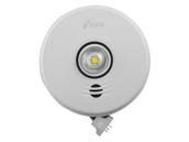 Kidde P4010ACLEDSCO-2 AC 3-in-1 LED Strobe and 10-Year Combo Smoke/CO Alarm With Battery Backup, 120V