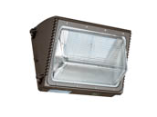 Energetic Lighting 70024 E2WPA36L-750 125 Watt Equivalent, 36 Watt Forward Throw LED Wallpack Fixture, 5000K With Photocell