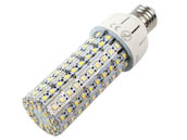 Olympia Lighting SCL-18W12-40K-E26 100 Watt Equivalent, 18 Watt 4000K LED Corn Bulb, Ballast Bypass