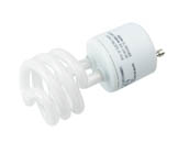 Halco Lighting 46525 CFL13/35/GU24 Halco Prolume 13 Watt T2 Spiral CFL Lamp, 3500K, GU24 Base, Non-Dimmable
