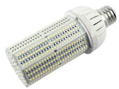 Olympia Lighting CL-65W8H-55K-E39 250 Watt Equivalent, 65 Watt 5500K 208-480V LED Corn Bulb, Ballast Bypass