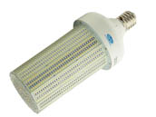 Olympia Lighting CL-250W12H-40K-E39 1000 Watt Equivalent, 250 Watt 4000K 208-480V LED Corn Bulb, Ballast Bypass