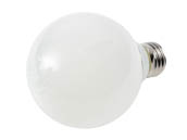 MaxLite 103767 EFF3G25D50 Maxlite Dimmable 3 Watt 5000K G25 Globe LED Bulb, Enclosed Fixture and Wet Rated