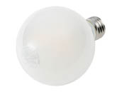 MaxLite 103771 EFF4.5G25D50 Maxlite Dimmable 4.5 Watt 5000K G25 Globe LED Bulb, Enclosed Fixture and Wet Rated