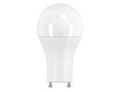 Halco Lighting 83189 A19FR15/840/OMNI2/GU24/LED Halco Non-Dimmable 15W 4000K A19 LED Bulb, GU24 Base, Enclosed Fixture Rated