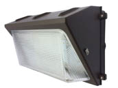 Commercial LED CLW4-805WMBR-2835 80 Watt, 250 Watt Equivalent Dimmable 5000K Forward Throw LED Wallpack Fixture