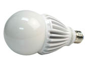 Green Creative 35055 34HID/830/277V/E26 Non-Dimmable 34W 120-277V 3000K A-23 LED Bulb, Enclosed Fixture Rated, E26 Base