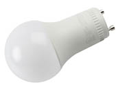 Euri Lighting EA19-8W2020eG-2 Dimmable 8W 2700K A19 LED Bulb, GU24 Base, Enclosed Fixture Rated