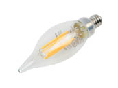 Keystone KT-LED4.5FCA11-E12-927-C Dimmable 4.5W 2700K 90 CRI Decorative LED Bulb, E12 Base, Title 20 Compliant