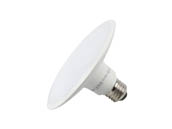 TCP L9SL13D3040K 9W 4000K LED Disk Light, E26 Base