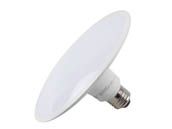 TCP L15SL16D3040K 15W 4000K LED Disk Light, E26 Base