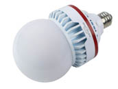Keystone KT-LED35A25-O-E26-850 Non-Dimmable 35W 120-277V 5000K A-25 LED Bulb, Enclosed Fixture Rated, E26 Base