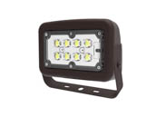 Halco Lighting 10342 FLFS30/3CCTU/YK Halco 100 Watt Equivalent, 30 Watt Color Adjustable (3000K/4000K/5000K) LED Flood Light Fixture With Yoke Mount, Title 24 Compliant