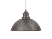 Progress Lighting P550032-020 Englewood One Light Hanging Lantern, Bronze Finish