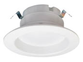 "Halco Lighting 99735 DL4FR9/940/LED3 Halco Dimmable 9W 4000K 90 CRI 4"" Recessed LED Downlight, JA8 Compliant, Wet Rated, E26 Adapter Included"