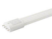 Eiko 10710 LED23W/PLL/835-G8D Non-Dimmable 23W 3500K 4 Pin Single Twin Tube PLL LED Bulb, Ballast Bypass